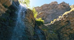 Your Kids Will Love This Easy 1-Mile Waterfall Hike Right Here In Utah