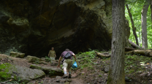 The Maryland Forest Trail That Holds A Long Forgotten Secret Of The Civil War