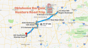 This Bargain Hunters Road Trip Will Take You To The Best Thrift Stores In Oklahoma