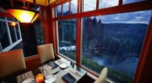 The Breathtaking Waterfall Restaurant In Washington Where The View Is As Good As The Food