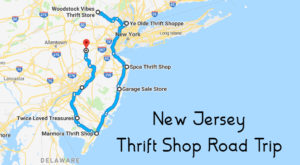 This Bargain Hunters Road Trip Will Take You To The Best Thrift Stores In New Jersey
