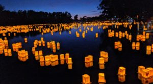 The Water Lantern Festival In Cincinnati That's A Night Of Pure Magic