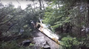 The Unique Hike In Vermont That Leads You To Plane Wreckage From 1973