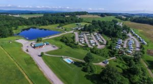 The Massive Family Campground Near Pittsburgh That's The Size Of A Small Town
