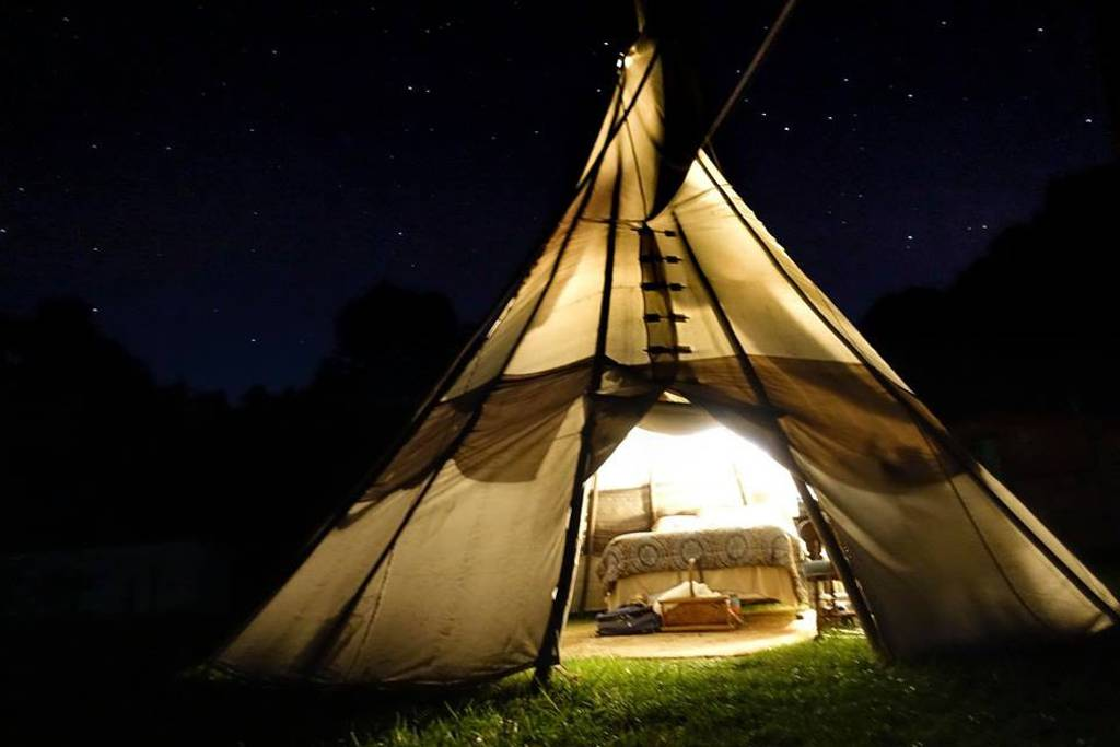 Spend The Night Under A Teepee In Missouri At This Unique Airbnb