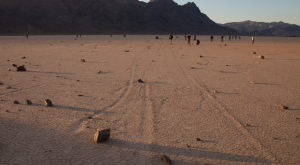 There's A Reason These Rocks Mysteriously Move In The Nevada Desert And It's Incredible