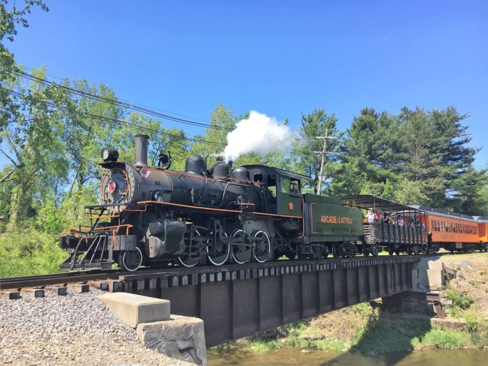 This 2-Hour Scenic Train Ride Showcases Everything We Love About Springtime Around Buffalo