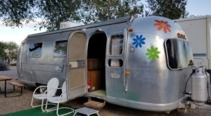 Spend The Night In A Vintage Trailer At This Unique Route 66 Park In New Mexico