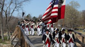 The Revolutionary War Comes To Life At This Huge Battle Reenactment In Massachusetts