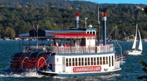 Spend A Perfect Day On This Old-Fashioned Paddle Boat Cruise Outside Buffalo
