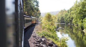 This 1 1/4-Hour Scenic Train Ride Showcases Everything We Love About Springtime In Connecticut