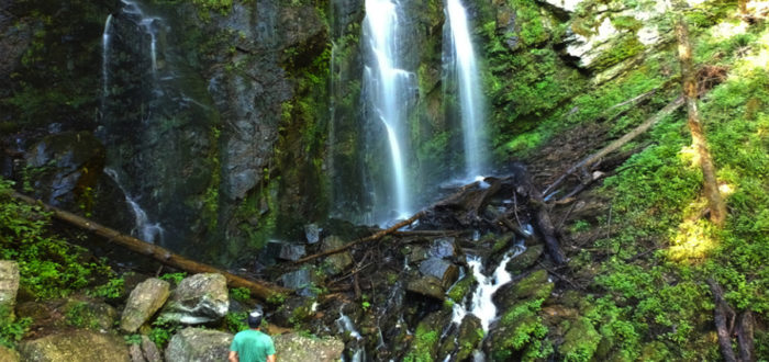 You May Feel Like You're In Hawaii Viewing This Lush, Green Waterfall In South Carolina