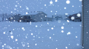 Winter Storms Over North Dakota Continue To Unload Seemingly Endless Amounts Of Snow