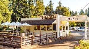 This Little Drive-In Restaurant Used To Be A 1920s Gas Station And You Won't Believe The Food It Serves