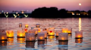The Water Lantern Festival In Buffalo That's A Night Of Pure Magic