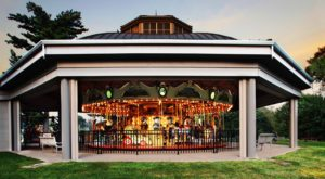The One Of A Kind Carousel Park In Iowa That's Perfect For Your Next Family Adventure