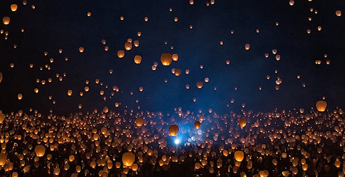 On May 18 2019 The Skies Above Utah Will Fill With Beautiful Glow Of Lanterns