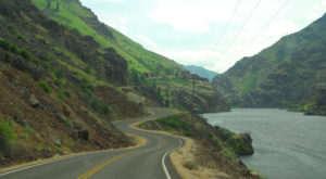This Highway That Winds Through An Idaho Canyon Is The Most Dramatic Road You'll Ever Drive