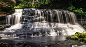 This Waterfall Near Pittsburgh Is The Coolest Thing You'll Ever See For Free