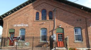 This Historic Indiana Train Depot Is Now A Beautiful Restaurant Right On The Tracks