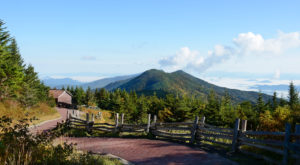 The Mystical State Park Where You'll Find The Two Highest Peaks On The East Coast
