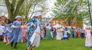 This Old Fashioned Spring Festival In Delaware Will Bring Out The History Buff In You