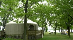 These 8 Ohio Campgrounds Have The Most Amazing Yurts You'll Want To Stay In