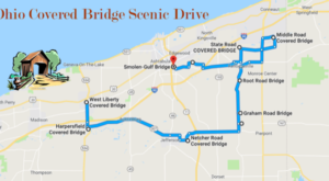 This Day Trip Takes You To 10 Of Ohio's Covered Bridges And It's Perfect For A Scenic Drive