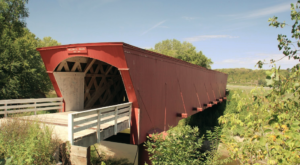 8 Undeniable Reasons To Visit The Longest Covered Bridge In Iowa
