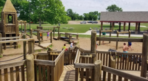 The Amazing Playground Fort In Iowa That Will Bring Out The Child In Us All