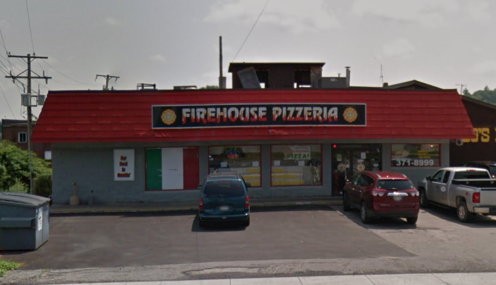 Firehouse Pizzeria Features A Delicious Pizza Buffet In