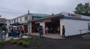 This Eclectic Garage Restaurant In Maine Is Such A Fun Place To Dine