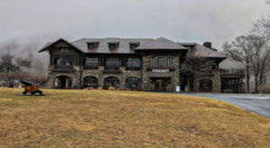 The Breathtaking Hotel That's Tucked Away Inside Of This New York State Park