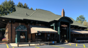 This Historic Train Depot Near Buffalo Is Now A Beautiful Restaurant Right On The Tracks