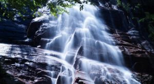 This New Hampshire Waterfall Is The Coolest Thing You'll Ever See For Free