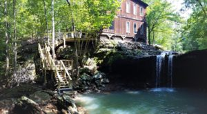 Enjoy Your Own Private Waterfall At This Secluded Cabin Getaway In Arkansas