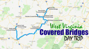 This Day Trip Takes You To 9 Of West Virginia's Covered Bridges And It's Perfect For A Scenic Drive