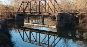 America's Last Remaining Train Trestle Bridge Is Hiding In Small-Town Texas