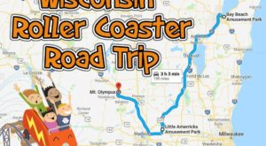 You Can Visit All 10 of Wisconsin's Roller Coasters On One Weekend Road Trip