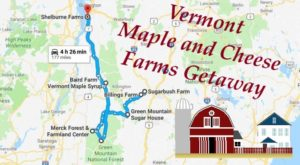 This Weekend Getaway Will Take You To The Best Maple And Cheese Farms In Vermont