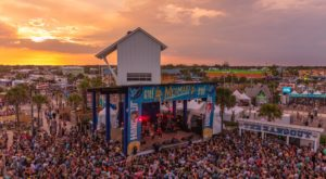 One Of The Largest Music Festivals In The U.S. Takes Place Each Year In This Small Alabama Beach Town