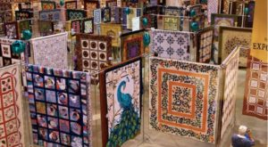 One Of The Largest Quilt Festivals In The U.S. Takes Place Each Year In This Tiny Town In Vermont
