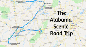 This Scenic Road Trip Will Lead You To 7 Of Alabama's Most Beautiful Places