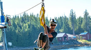 The Middle Of The Woods Adventure In Alaska With Just The Right Amount Of Thrill