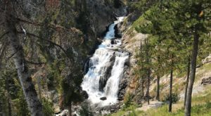 The Wyoming Trail That Leads To A Stairway Waterfall Is Heaven On Earth
