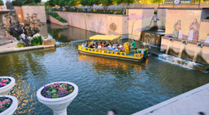 Ride A Water Taxi Through This Oklahoma Canal For A Fun Family Outing