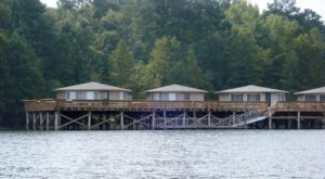 Spend The Night Over The Water In A Pier Cabin At This South Carolina State Park