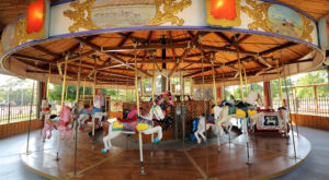 The One Of A Kind Carousel Park In Nebraska That's Perfect For Your Next Family Adventure
