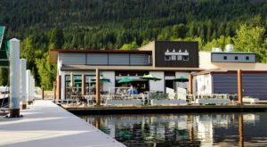Dine Right On Top Of The Lake When You Visit This Wondrous Floating Restaurant In Idaho