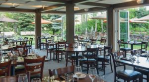 The One Restaurant In Idaho With The Most Magical Garden Dining You've Ever Seen
